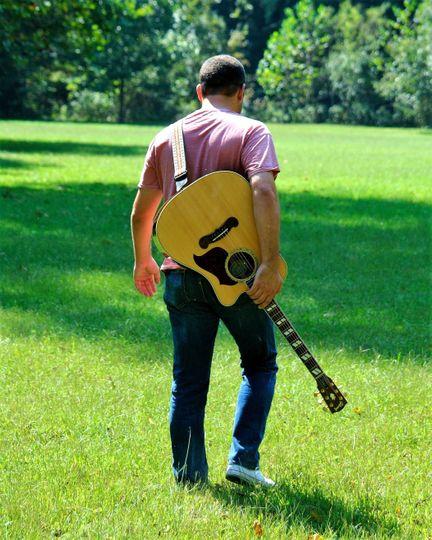 Guitar in hand