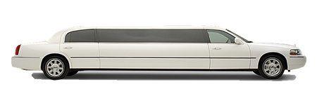 10 passenger white stretch limo classic wedding elegance