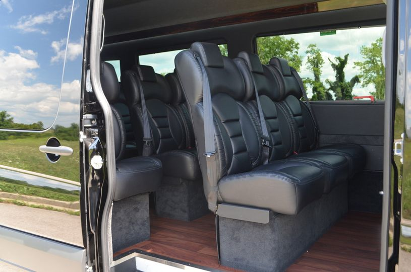 sprinter van interior 1