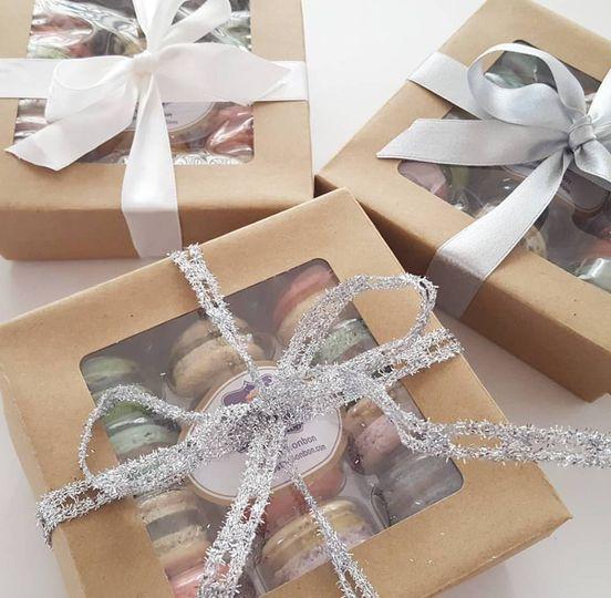 Macaron Gift Box (12 Mac)