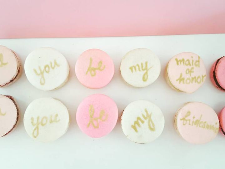 Tmx Bridalmacaron 51 701832 Quincy, Massachusetts wedding cake
