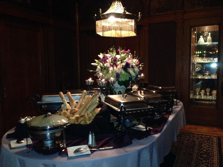 Buffet at Rhodes Hall in Atlanta, Ga