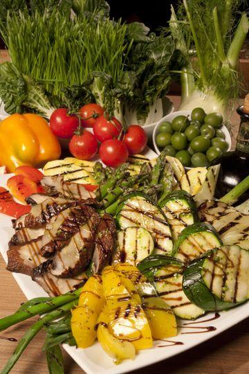 Grilled Vegetable Platter.