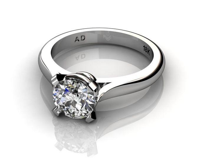 roundcut diamond 1carat platinum 003
