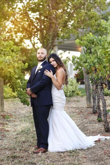 This couple was on fire! We love Livermore wine country weddings.