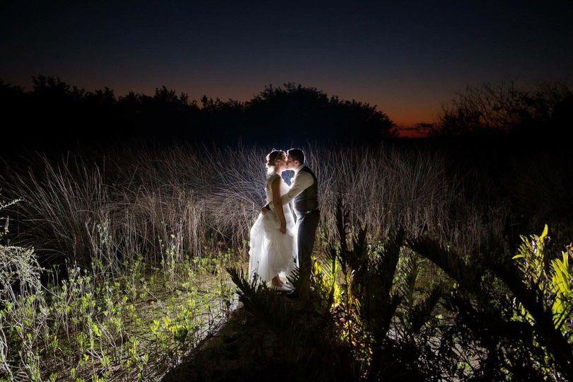 A nighttime scene in Port Orange, Florida