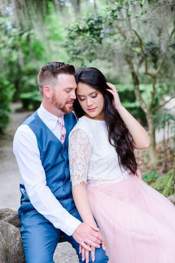 Engaged at Magnolia Plantation