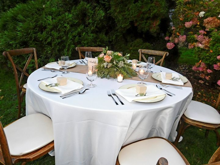 Rustic romance table package