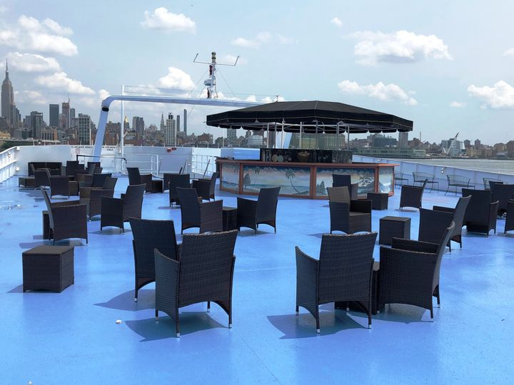 Rooftop with Seating and Bar