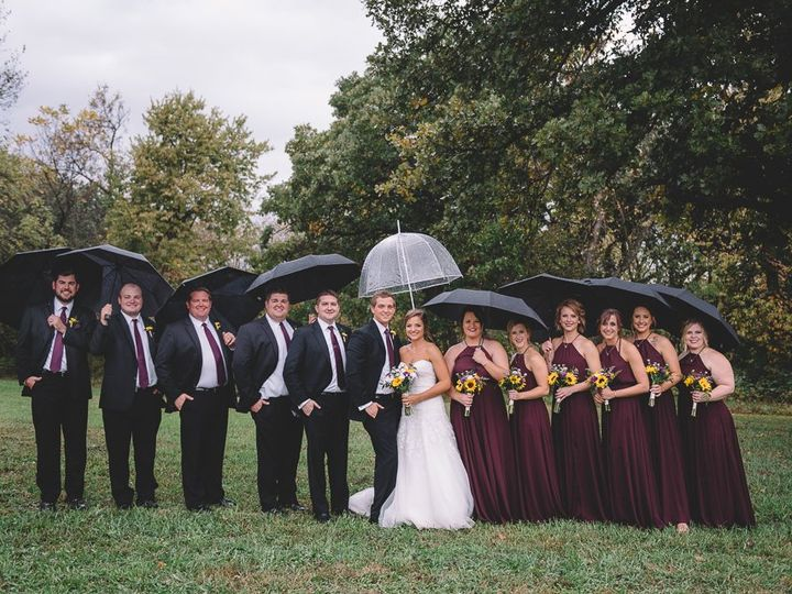 Tmx 100 Rainy Wedding Party Photo Manhattan Ks 51 607832 Manhattan, KS wedding photography
