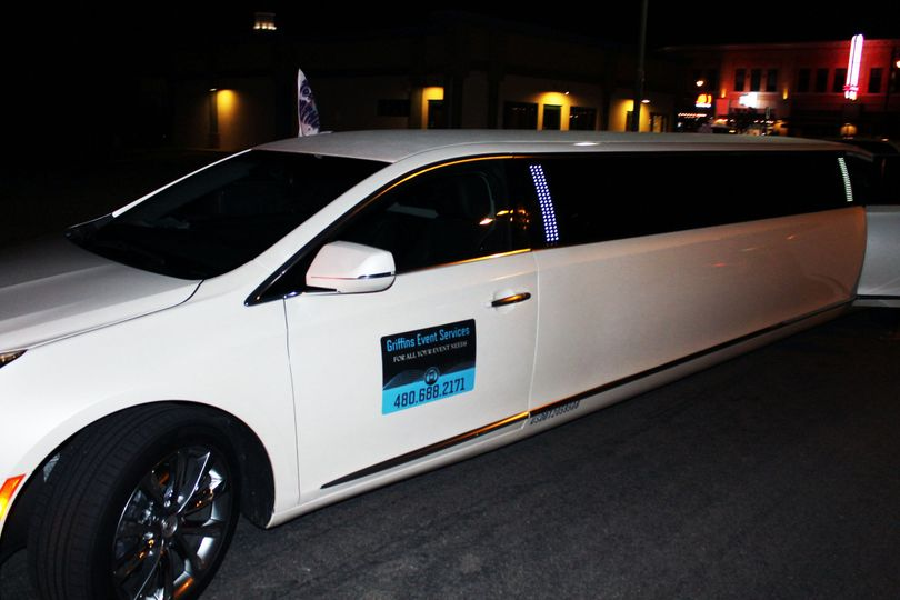 ges sticker on limo