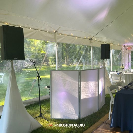 Wedding tent package