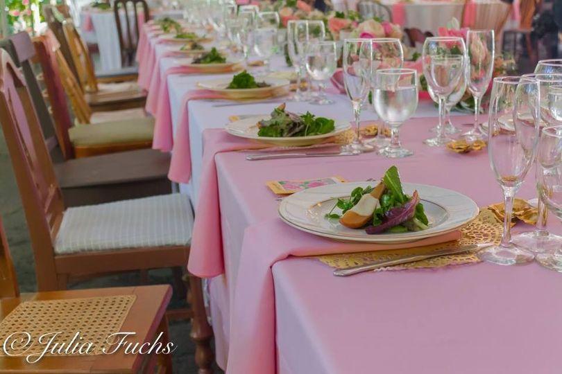 Pink cloths