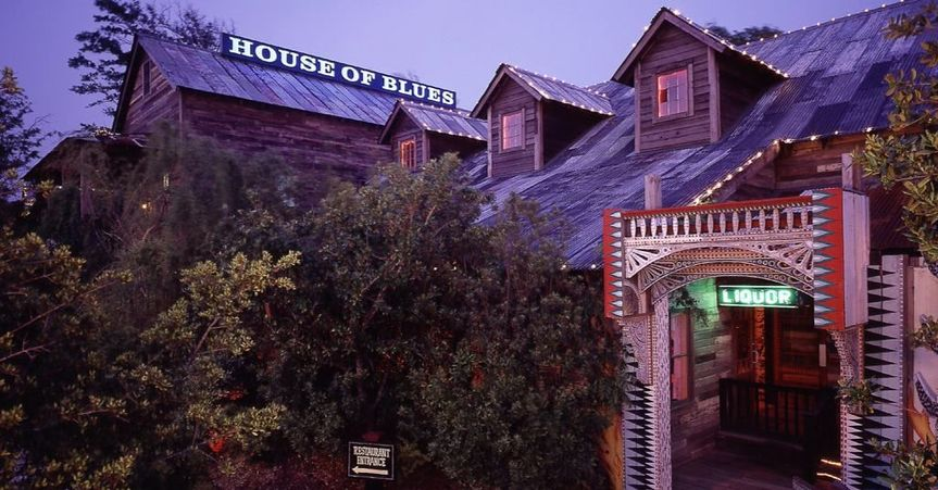 Outlook of House of Blues Myrtle Beach