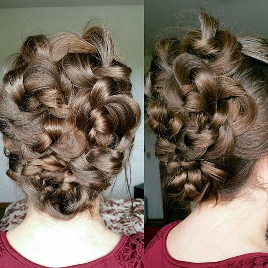 Bridesmaid or Prom ready