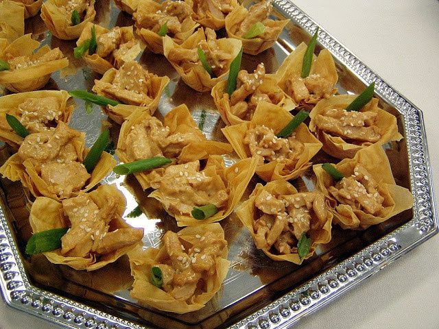 Chicken Satay Tartlets