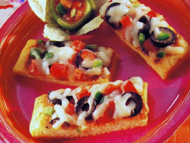 Mexican Pizza Bites