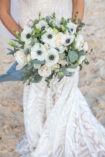 Bridal bouquet service