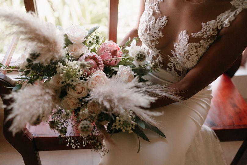 Bride bouquet, boho weddings