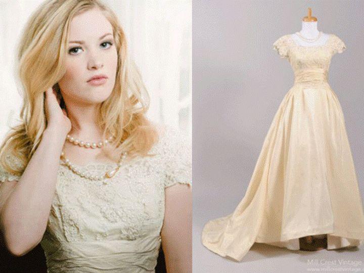 Tmx 1368741209070 Millcrestvintage3 Newtown wedding dress