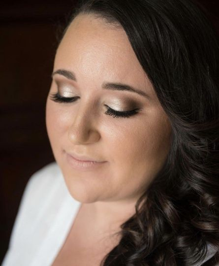Bride at Bonaventure resort & spa beauty