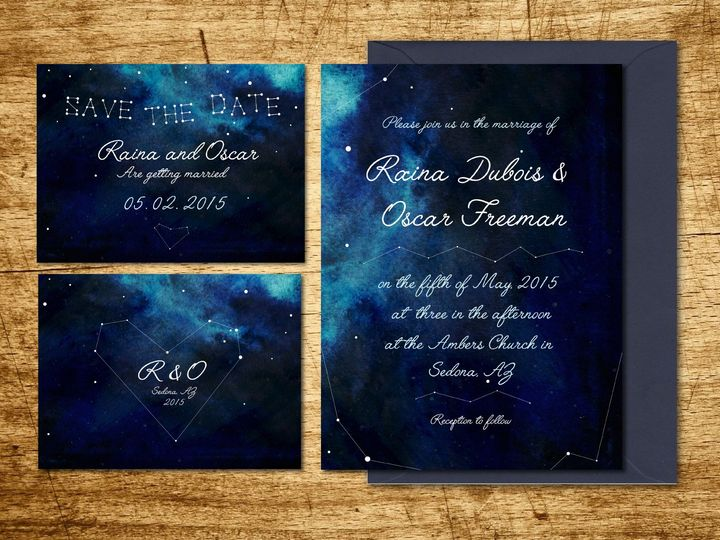 Tmx 1446998622764 Starrynightsd 04 Newport wedding invitation