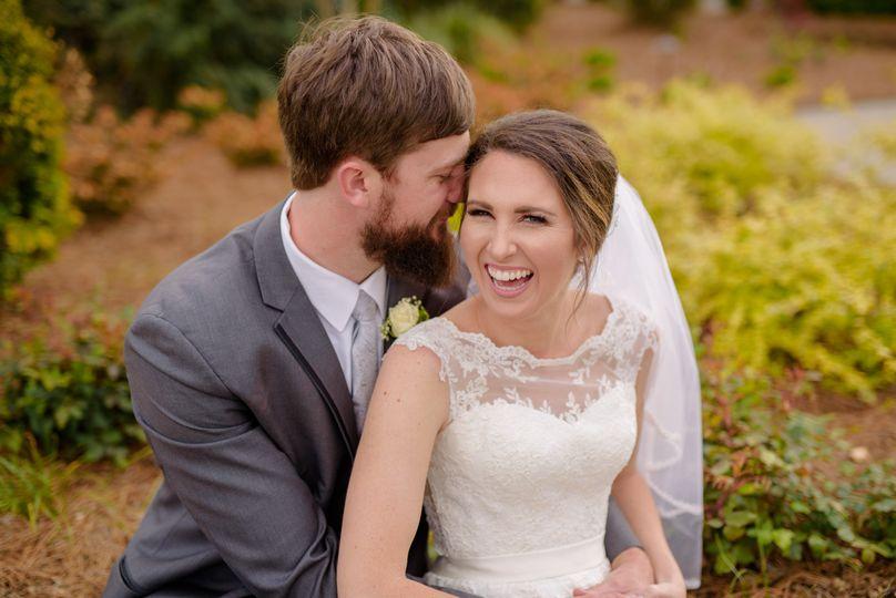 Athens, Georgia wedding couple