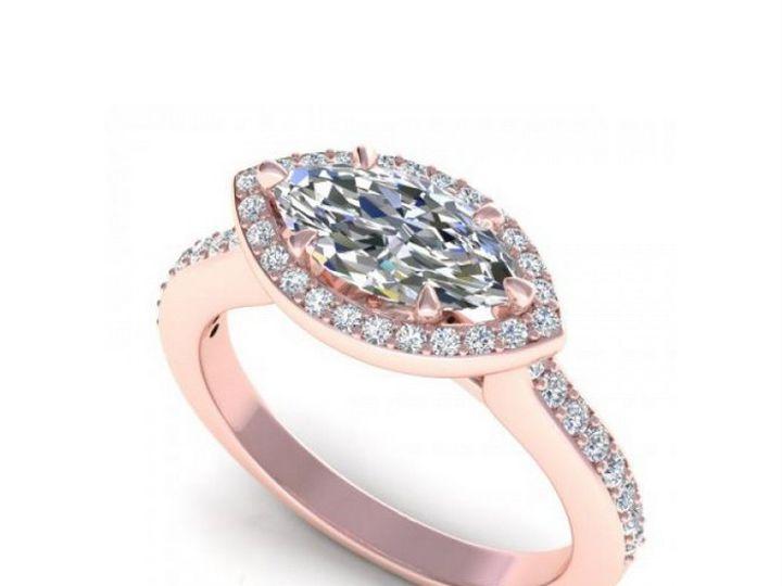 Tmx 1504152858969 Rose Gold Engagement Ring West New York wedding jewelry
