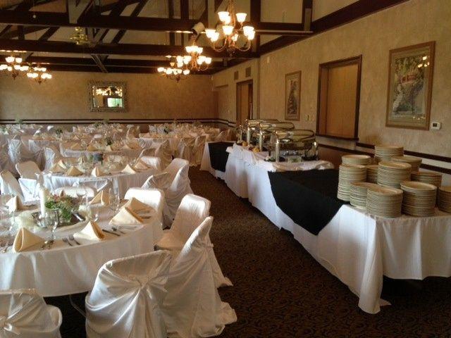 An elegant buffet
