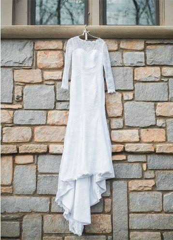 Sleeved wedding dress