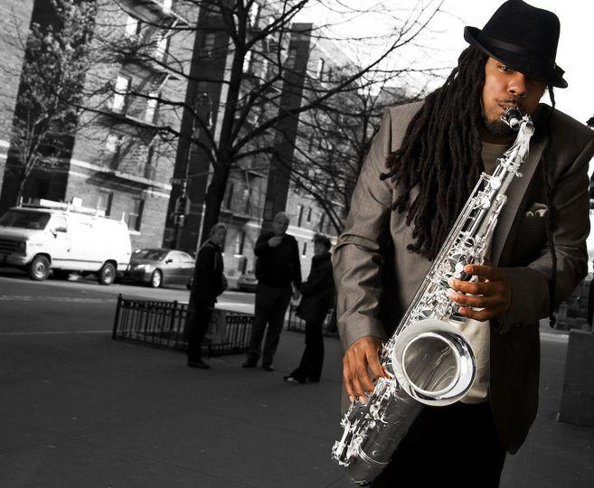 A jazz player