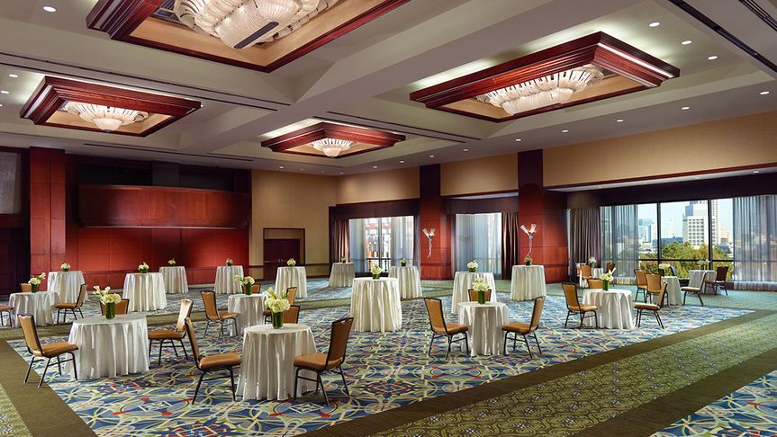 Grand Ballroom with view
