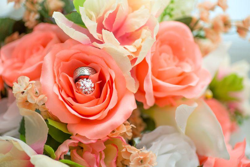 Rings in roses
