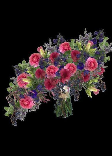 Free form bouquet