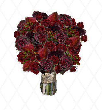 Tmx 1499183287413 Dark Red Bouq  wedding florist