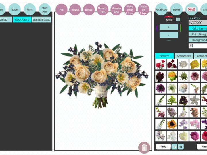 Tmx 1499183300343 Db Bouq With Design Tools  wedding florist