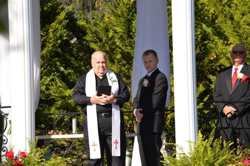 A sunny wedding