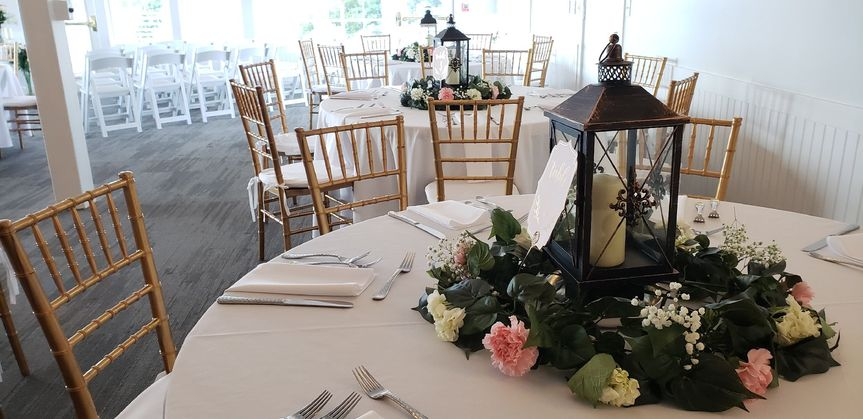 Upgraded chiavari chairs