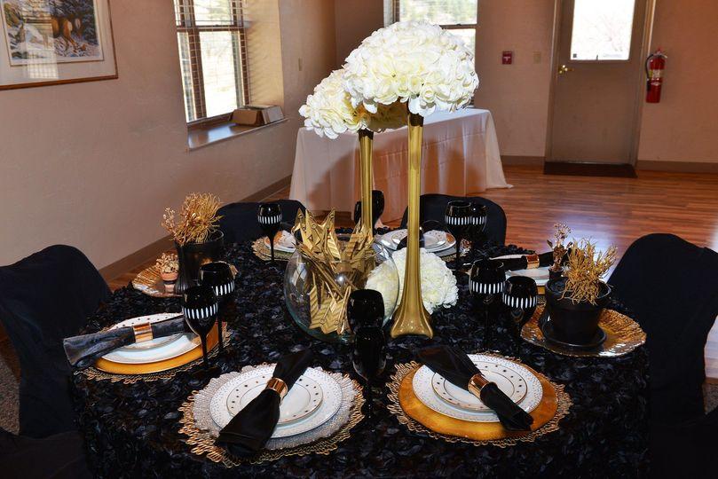 Black tie wedding in colorado springs