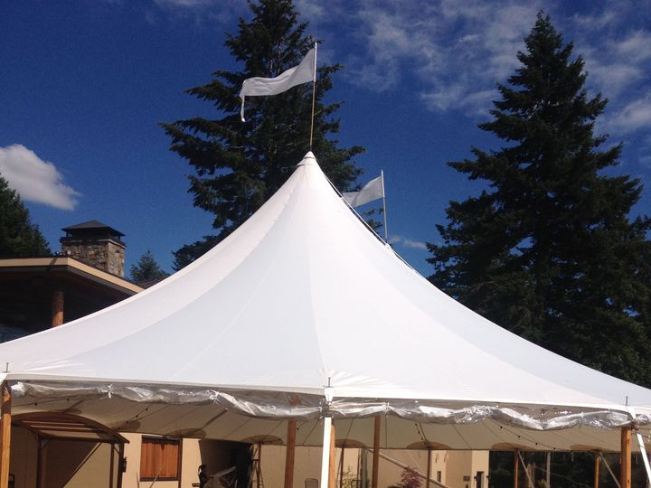 Tmx Side View Of Tent 51 130042 Turner, OR wedding venue
