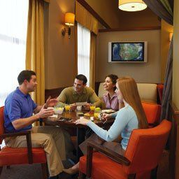 Enjoy complimentary hotel-wide Wi-Fi and continental breakfast buffet.
