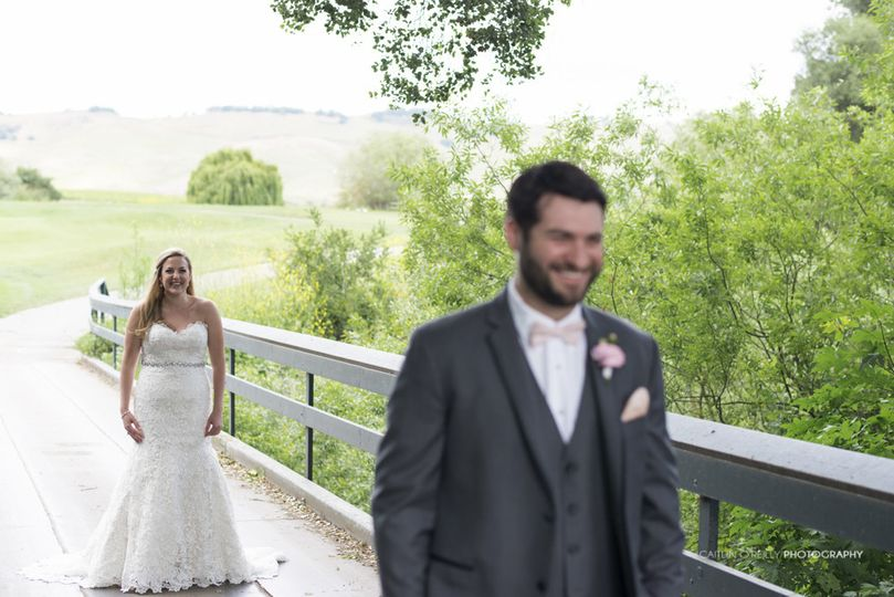 Couple's first look