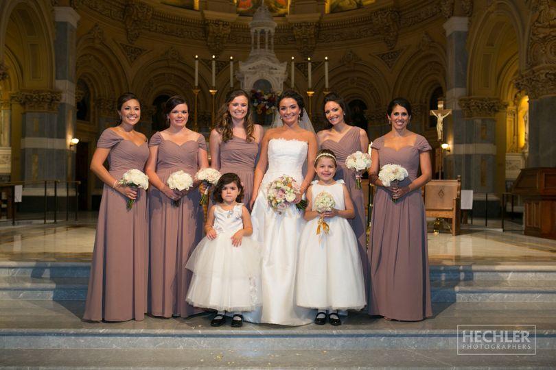 eccleston bridal party