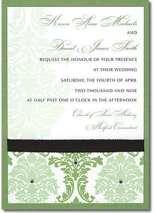 Tmx 1246506420812 PearLarge Farmington wedding invitation