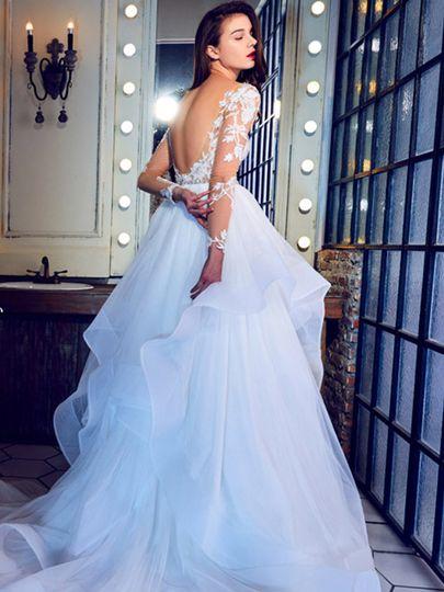 lamour calla blanche bridal couture chicago