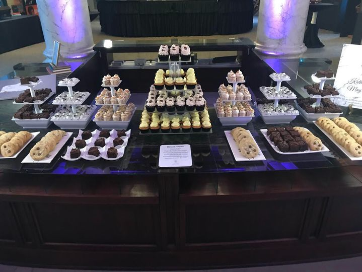 Historical Society of Milwaukee Wedding Dessert Buffet