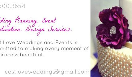 C'est Love Weddings and Events 1