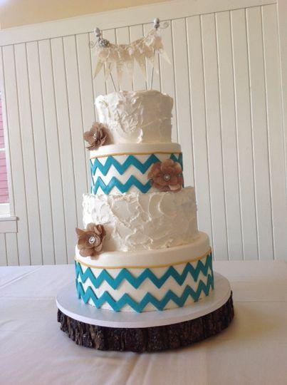 Tiffanys Cake Atelier Wedding Cake Yukon OK WeddingWire