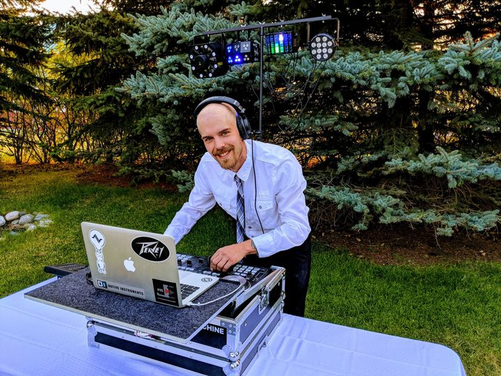 DJ booth outdoors