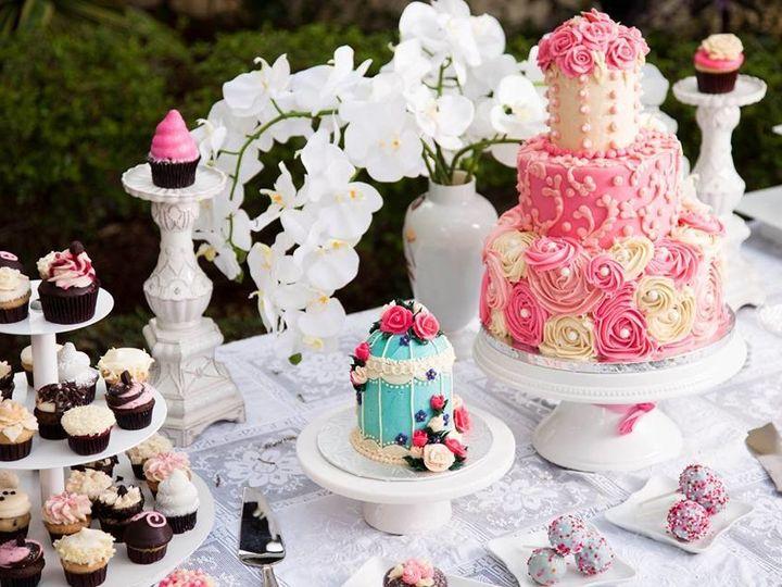 Tmx 1500934355916 14519942101544351901356317187844638783235156n Orlando, Florida wedding cake